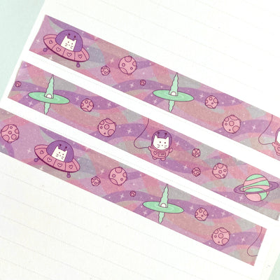 Frank in Space Washi Tape