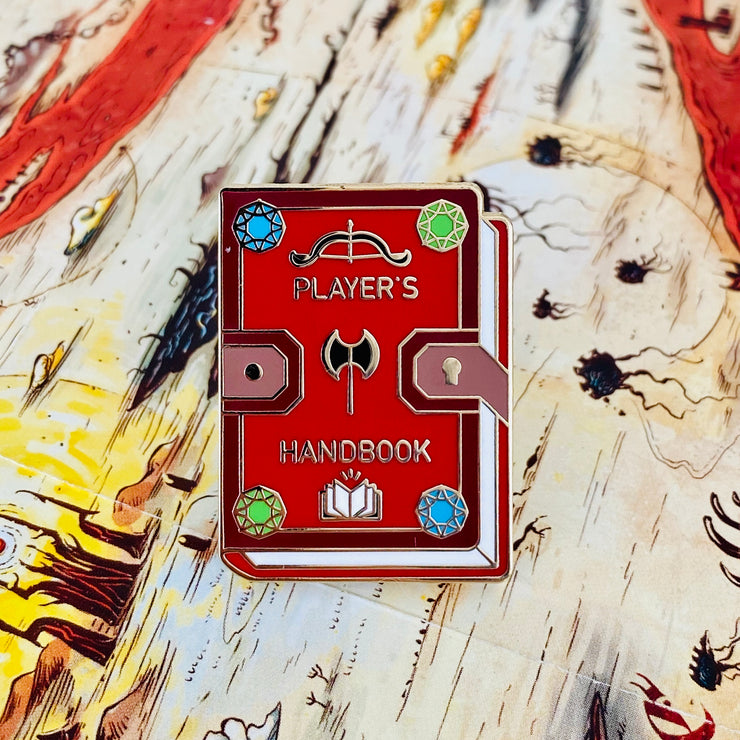 D&D book - Dungeons and Dragons Enamel Pins