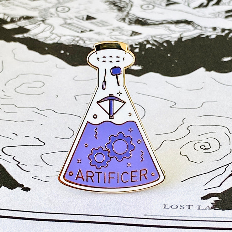 Glass Classes Artificer Pin
