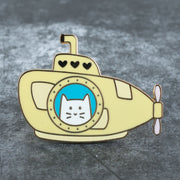 Cub Sub - Cat Enamel Pin