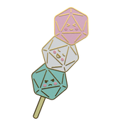 Dango Dice Pin