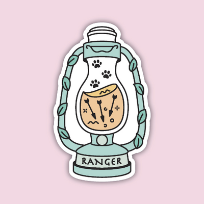 Glass Classes Ranger Sticker