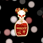 Glass Classes Warlock Pin