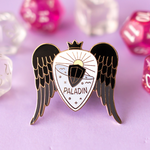 Glass Classes Paladin Pin