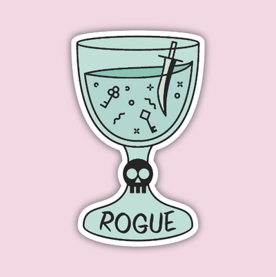 Glass Classes Rogue Sticker