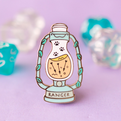 Glass Classes Ranger - Dungeons and Dragons Enamel Pin