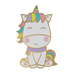 The Grumpy Unicorn hard enamel pin
