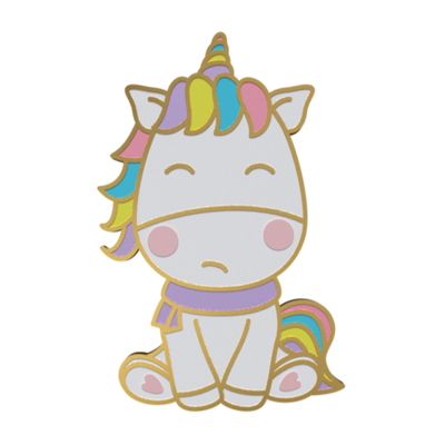 Unicorn Enamel Pin - Lord of the Rings Enamel Pin