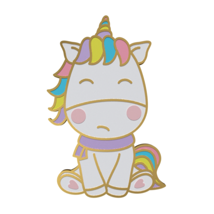 The Grumpy Unicorn Pin