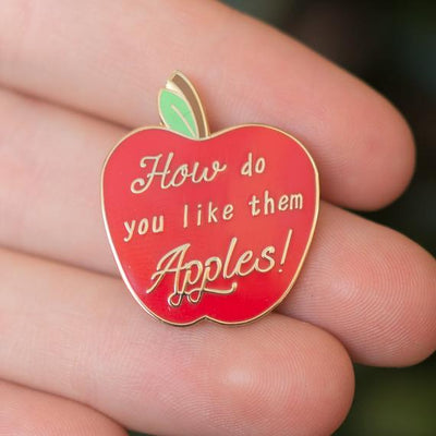 How do you like them Apples - Good Will Hunting Enamel Pin