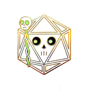 Lich Dice Pin
