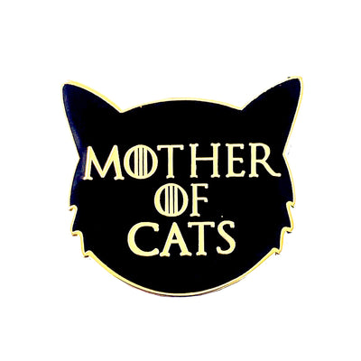 Mother of Cats Pin
