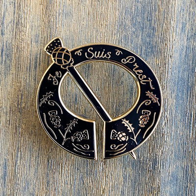 Clan Fraser brooch Outlander Enamel Pin