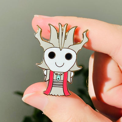 Kawaii Acererak/Lich - Dungeons and Dragons Enamel Pin