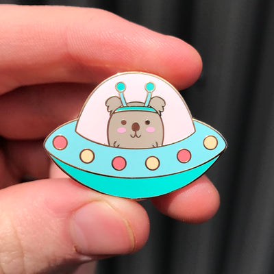 Space Koala Bushfire Charity - Kawaii Enamel Pin