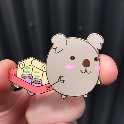 Koala Charity - Kawaii Enamel Pin