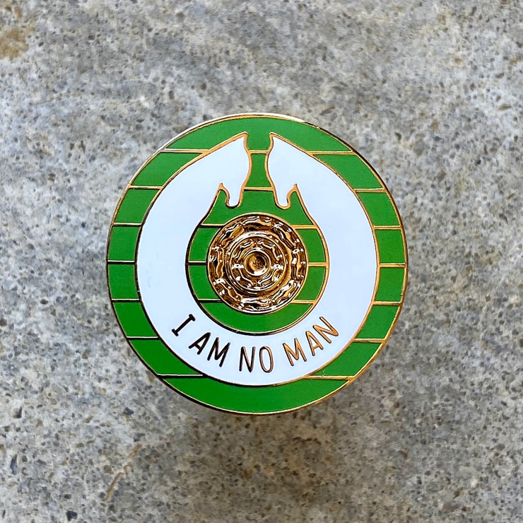 I am No Man - Lord of the Rings Enamel Pin