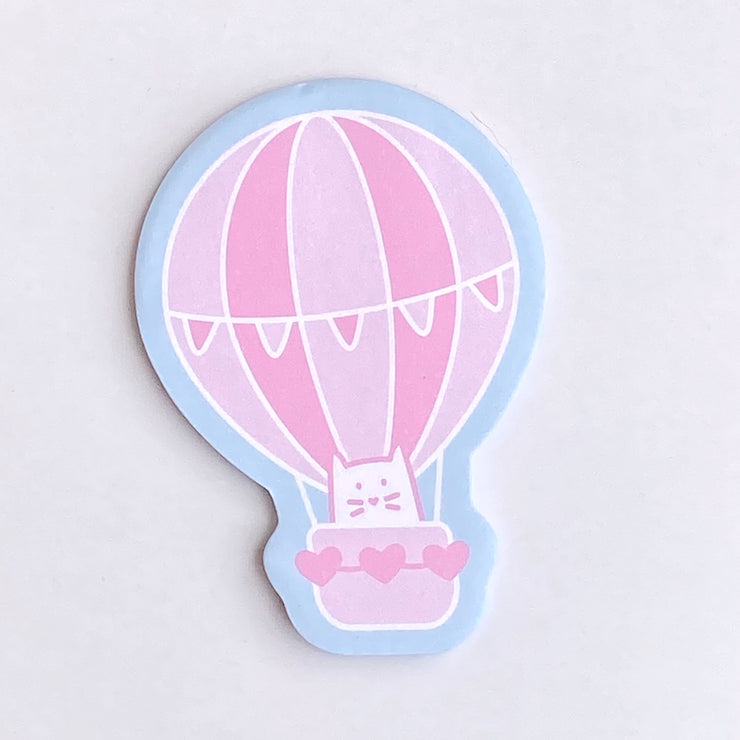 Cat Air Balloon Sticky Notes