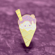 Dice Cream - Dungeons and Dragons Enamel Pin