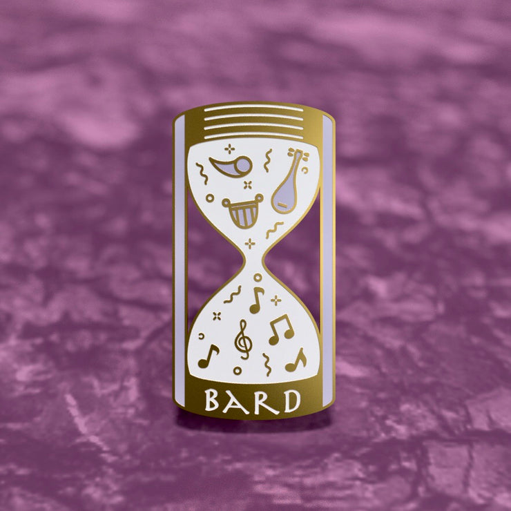Glass Classes Bard - Dungeons and Dragons Enamel Pin
