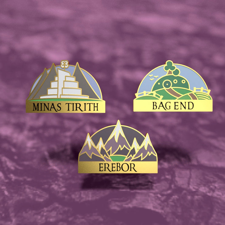Middle-Earth - Lord of the Rings Enamel Pin