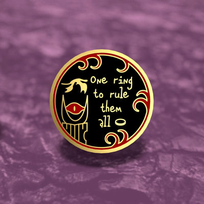 The One Ring - Lord of the Rings Enamel Pin