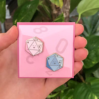 Happy Dice Pin