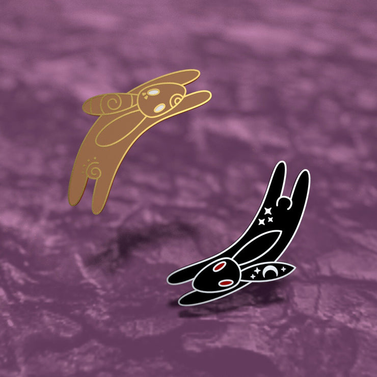 Watership Down Rabbits - Enamel Pin