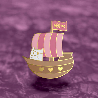 Pirate Frank - Cat Enamel Pin
