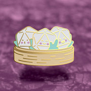 Dice-msum - Dungeons and Dragons Enamel Pin