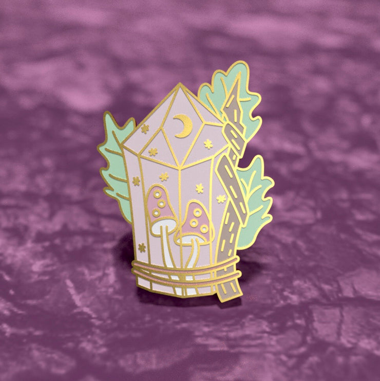 Crystal Magic - Witchy Enamel Pin