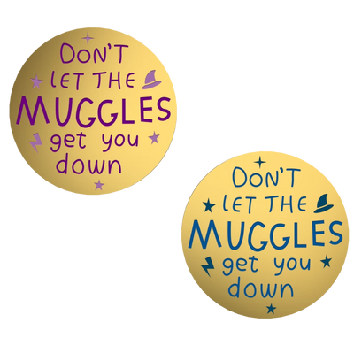 Muggles - Harry Potter Enamel pin