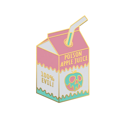 Poison Apple Juice - Kawaii Enamel Pin