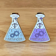 Glass Classes Artificer - Dungeons and Dragons Enamel Pin