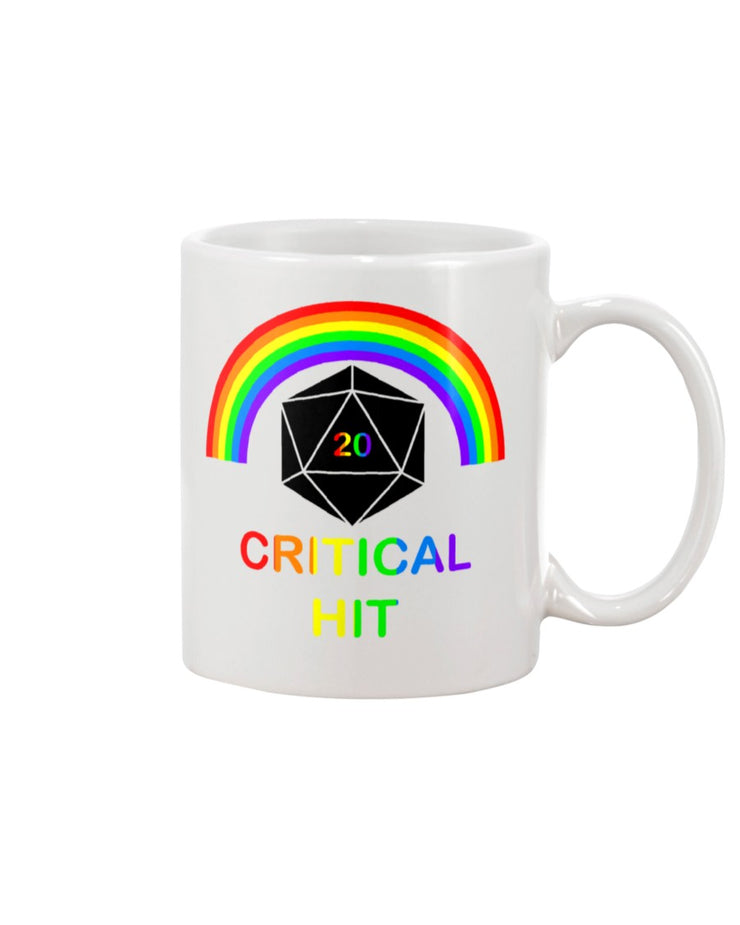Rainbow Critical Hit Mug