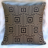 Geometric Print Pillow Cover