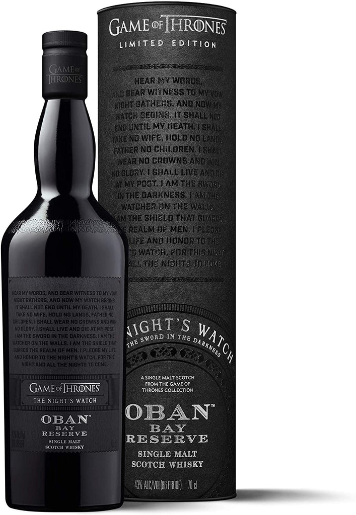 Oban Bay Reserve Scotch Whisky Game of Thrones Limited Edition 70cl