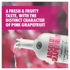 Absolut Grapefruit Vodka 70cl