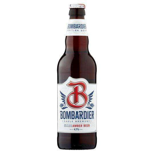 Bombardier Amber Beer 8 x 500ml Bottle
