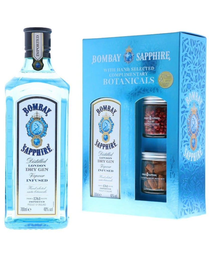 Bombay Sapphire 70cl Gin with Botanicals Gift Box