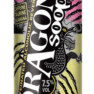 Dragon Soop Rhubarb & Custard 500ml