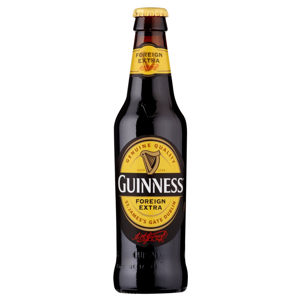 Guinness Foreign Extra Stout Beer 24 x 330ml Bottle