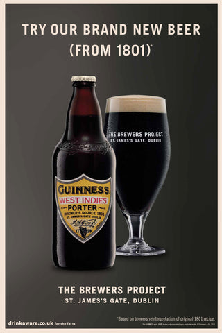 Guinness West Indies Porter 8 x 500ml Bottles