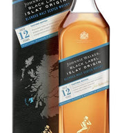 Johnnie Walker Black Label Blended Scotch Whisky Limited Edition Islay Origin, 1 Litre