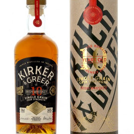 Kirker & Greer 10 Year Old Cask Strength Irish Whiskey, 70 cl
