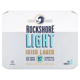 Rockshore Light Irish Lager Cans 440ml