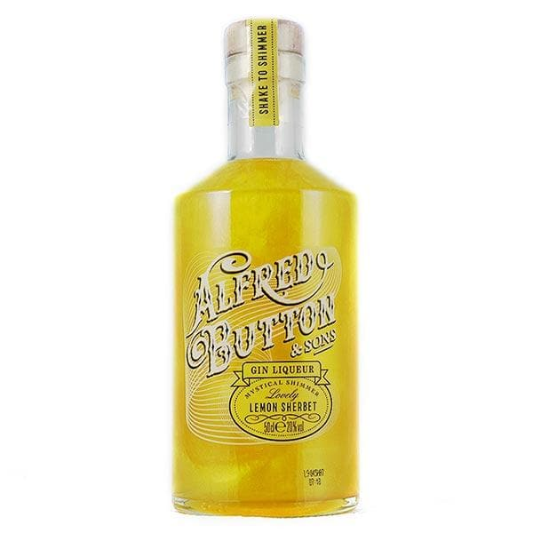 Alfred Button Gin Liqueur Lovely Lemon Sherbet 50cl