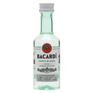 Bacardi Carta Blanca Superior White Rum Miniature 1x5cl