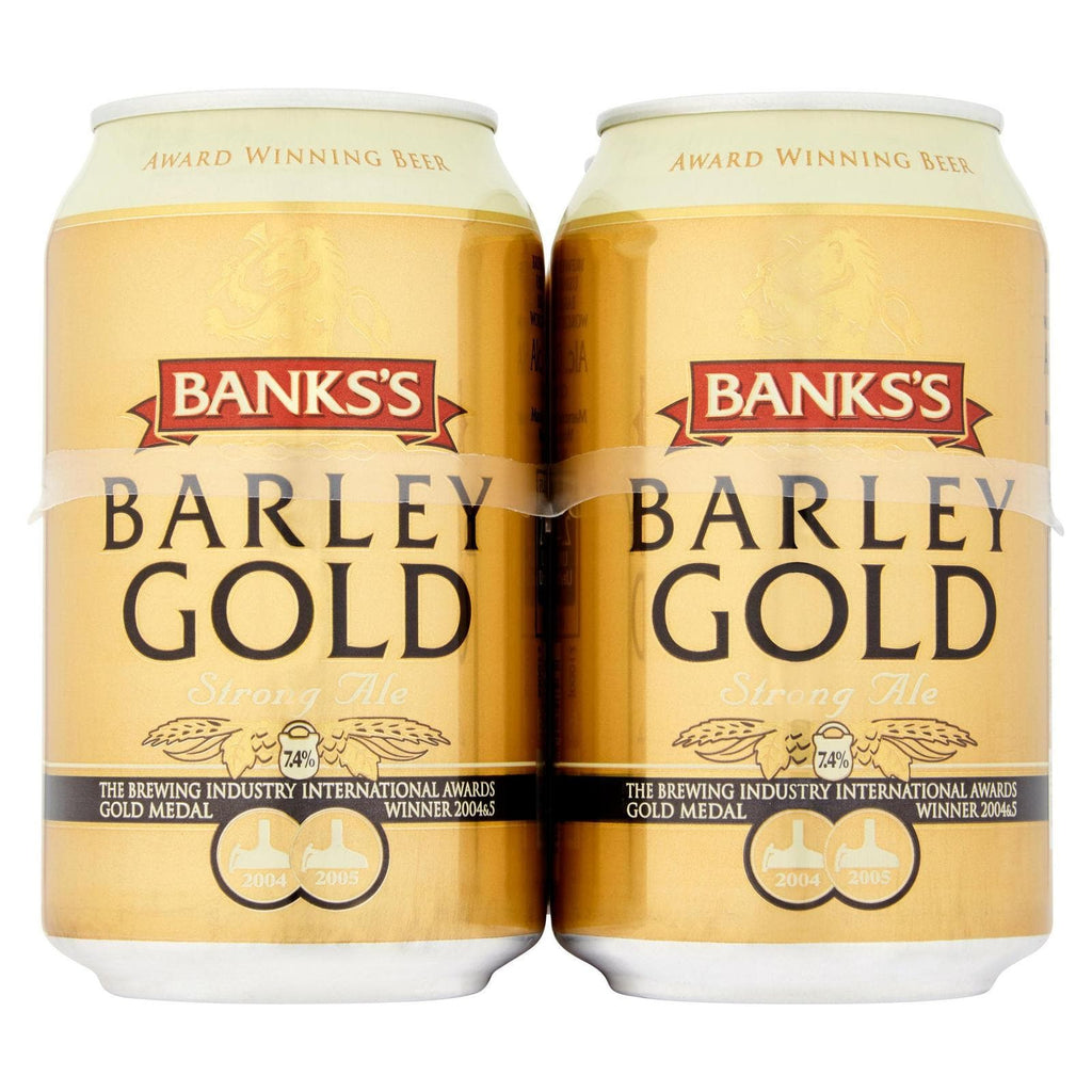 Bank's Barley Gold Cans 24x330ml