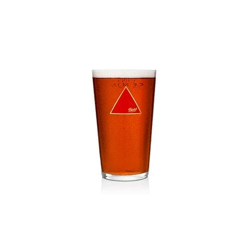 Bass Beer Pint Glass 57cl Clear